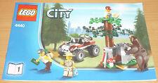 Lego City 1 receta para 4440 sólo parte 1
