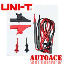 UNI-T Multimeter test lead probe Alligator clip 3in1SET for fluke Meter Power AU