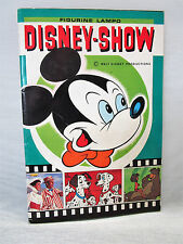 ALBUM FIGURINE- DISNEY-SHOW - EDIZ.FLASH/LAMPO 1977 - COMPLETO -13 FIGURINE