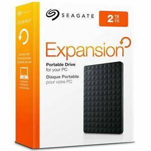 Seagate Expansion 2TB Portable External Hard Drive