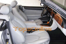 Jaguar XK8 XKR Original Leather Replacement Front Seat Cover Kit 2001 to 2006