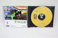 WICKED 18 3DO Real Panasonic Import Japan Game bbc 3d