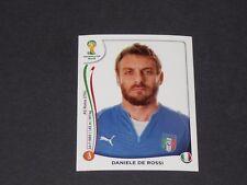 326 DE ROSSI AS ROMA ITALIA PANINI FOOTBALL FIFA WORLD CUP 2014 BRASIL