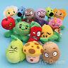 Plants vs Zombies Plush Toys Soft Stuffed Dolls Brinquedos 14 Pcs Set Kids Gift