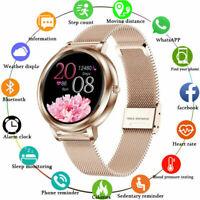 2020 Women Smart Watch Bracelet Wristband Heart Rate Blood Pressure Monitor