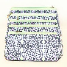 Lot of 5 x Clinique Cosmetic Makeup Bag Zipper Pouch Jonathan Adler Winter 17