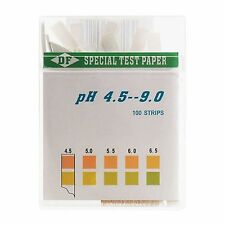 DF Speciality Paper pH Test Strips pH Balance Acid Alkaline Diet (100 Strips)