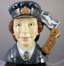 """Royal Doulton Character Jug """"Women's Auxiliary Air Force"""" D7212 - MIB"""