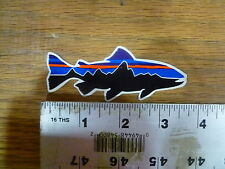 Patagonia Small Fry Mini Fish Stickers Decals