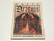 GURPS Dragons - Hardcover - Steve Jackson Games - Great Shape