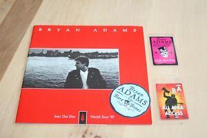 Bryan Adams - Tour Book 1987 + 3 Backstage Passes