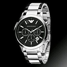 Armani AR 2434 Black Dial's Men's Chronograph Watch