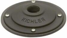 New listing Kichler 15601Bkt Black Surface Mounting Flange For 12V Or 120V Landscape Fixture