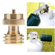 1 lb Propane Refill Adapter Lp Gas Cylinder Tank Coupler Heater Outdoor Cooking