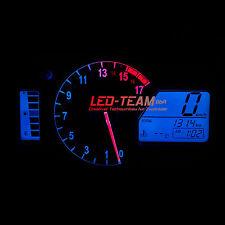 Honda CBR 600RR BJ 07-16 Motorrad Tacho Beleuchtung Umbau  LED Set BLAU LED-Team