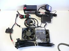 New Universal Motorcycle KTM 50, 85 and pit bikes 2 Fan Kit with Manual switch