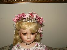 Rustie Melody Porcelain Doll Limited Edition 0327/1000 With COA 32 Inches