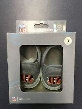 K)  NIB Cincinnati Bengals Baby Shoes Fanatics Size 3 Pre-Walkers 6-9 Months