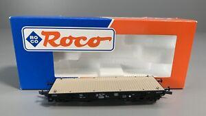 H0 - ROCO (DC)--46380...DB Schwerlastwagen...NEM...OVP    / 4 K 275
