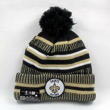 New Era Cap Men's NFL New Orleans Saints On Field Sport Winter Knit Bobble Hat