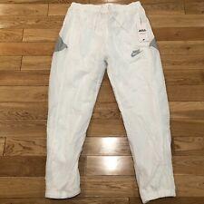 $90 NEW Nike SportsWear Men's Woven Reissued Joggers White AR1873-121 Sz M RARE