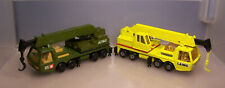 matchbox superkings K-12 HERCULES MOBILE CRANE (x2) laing 1974 lesney england