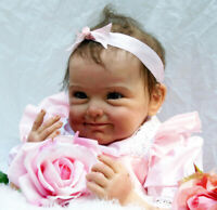 55cm Realistic Lifelike Newborn Girls Adorable Reborn Baby Dolls Toddler Kids