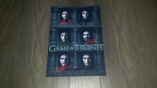 "GAME OF THRONES PP SIGNED 12X8"" A4 PHOTO POSTER MANY FACED GOD KIT HARRINGTON S6"