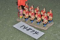 25mm dark ages / chinese - ancient crossbowmen 10 figs - inf (14874)