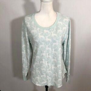 Gilligan & O'Malley Women Sleepwear Sleep Shirt Top Pajama Size Large - E35