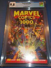 Marvel Comics #1000 Great Alex Ross Cover CGC 9.8 NM/M Gorgeous Gem Wow