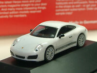 Herpa Porsche 911 Carrera 2S, weiss - 101967 - PC 1/87