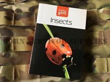 Guida degli insetti nuovo Collins Gem Bushcraft Sopravvivenza Insetti BUG Tasca NATURA LIBRO