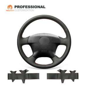 Leather Car Steering Wheel Cover for Honda Civic 2001-2002 Odyssey / 2002-2004