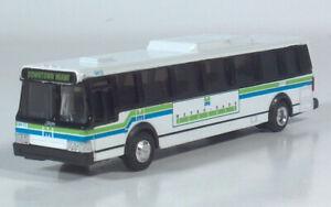 Road Champs Miami Metro Dade HO1:87 Flxible Metro/Grumman 870Diecast Transit Bus