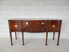 OLD COLONY Federal Hepplewhite Style Mahogany Sideboard Buffet