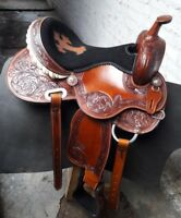 15'' western saddle barrel racing Style Saddle