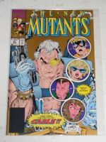 NEW MUTANTS #87 MARVEL COMICS 1ST APP CABLE 2ND PRINT GOLD COVER MARCH 1990