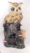 Owl Family House Night Light Home Decor