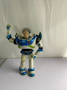 "Disney / Pixar 2001 Hasbro Buzz Lightyear Action Figure 11"" Working"