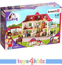 Schleich Grosser Pferdehof mit Wohnhaus und Stall 42416