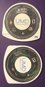 PSP Games Sony PlayStation MLB 08 the Show &Twisted Metal Head-On Cartridge Only