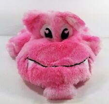"""Plush Pink Hippo with  mouth to hold pajamas or other gift Super soft 14"""""""