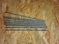 10 x Wolfram -Elektrode WT 20 rot Ø 3,2mm x175mm  WIG Nadeln
