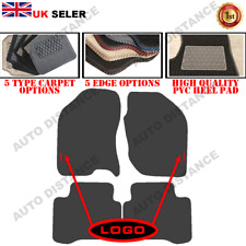 Tailored Carpet Car Mats With Heel Pad FOR Nissan X Trail (Alt) WITH LOGO 01-07