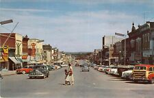 Chestnut St. Looking North, Atlantic, Iowa