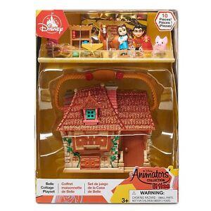 2021 Disney Store Animators Collection Littles Beauty & The Beast Belle Playset