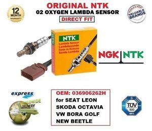NTK O2 LAMBDA SENSOR 036906262H for SEAT LEON SKODA OCTAVIA VW BORA GOLF BEETLE