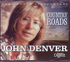 John Denver - Country Roads -  Reader's Digest  3 CD Box  OVP