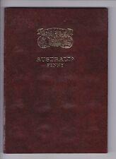 Penny Set Australia inc varieties mint marks has 1925 1946 no 1930 Album A-349